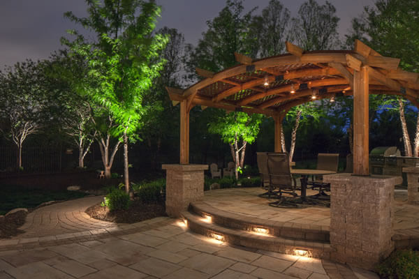 landscape lighting collingwood